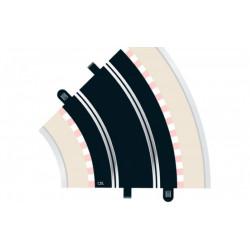 Scalextric. RAIL courbe R2 45° x1 pièce