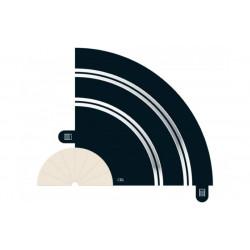 Scalextric. RAIL courbe R1 90° x1 pièce