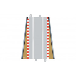 Scalextric. BORDURES droites 350 mm + glissières