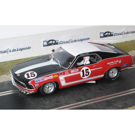 """1/24° BRM FORD Mustang Boss 302 n°15 """"rouge"""""""