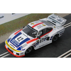 Sideways PORSCHE 935 K2 n°42 le Mans 1977