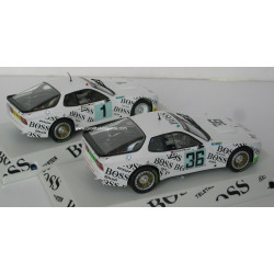 FALCON SLOT CARS pack team PORSCHE le Mans 1981