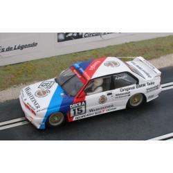 SCALEXTRIC BMW M3 E30 evo n° 15