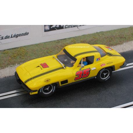 CARRERA CHEVROLET Corvette Sting Ray 1963 n° 35